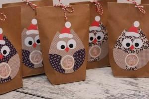 http://de.dawanda.com/product/37781141-Adventskalender-Eulen-braun-24-Geschenktueten-braun