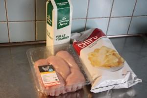 kipnuggets maken met yoghurt