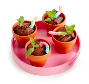 Chocoladecake in potje