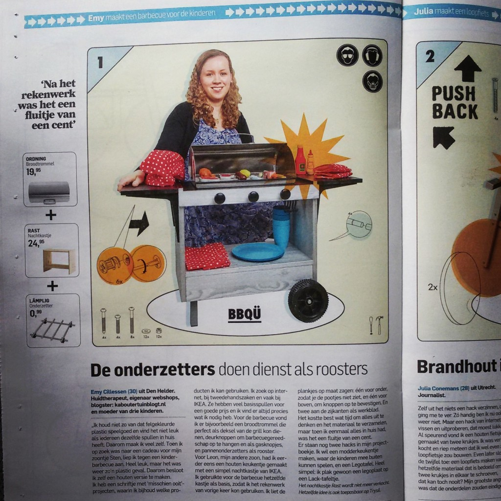 Kaboutertuin in AD Magazine BBQ