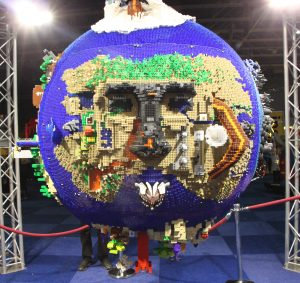 lego world 2016 wereldbol