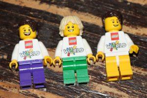 Lego world 2016 maak je eigen minifiguur