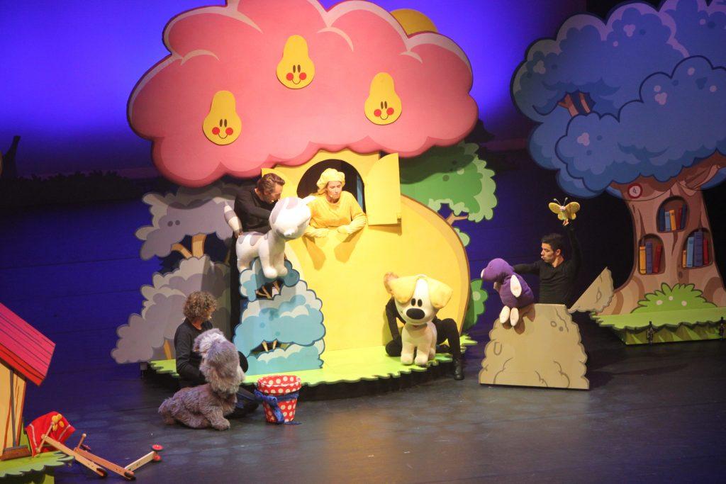Woezel & Pip sloddervos theater