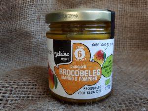 nieuwe producten kleine keuken broodbeleg mango en pompoen