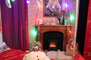Gezelligheid in het Sinterklaashuis