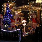 kerst verlichting tuin