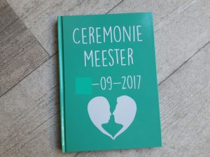 ceremoniemeester-notitieboekje