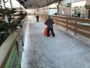 vakantie schaatsen
