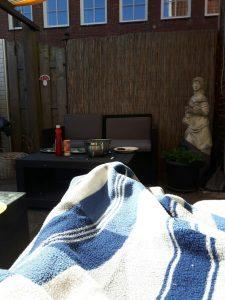 bijkletsen ziek met warme weer