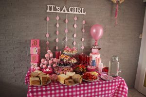 babyshower decoratie