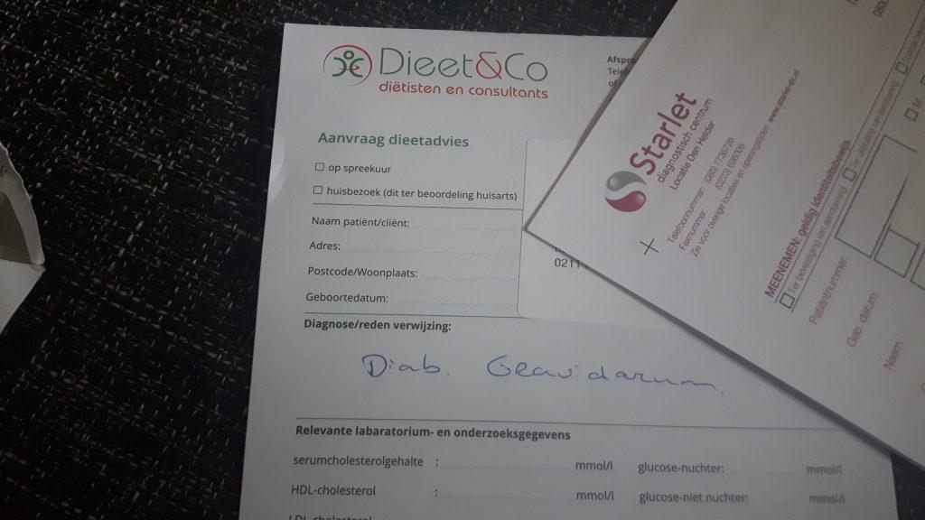 glucose tolerantie test