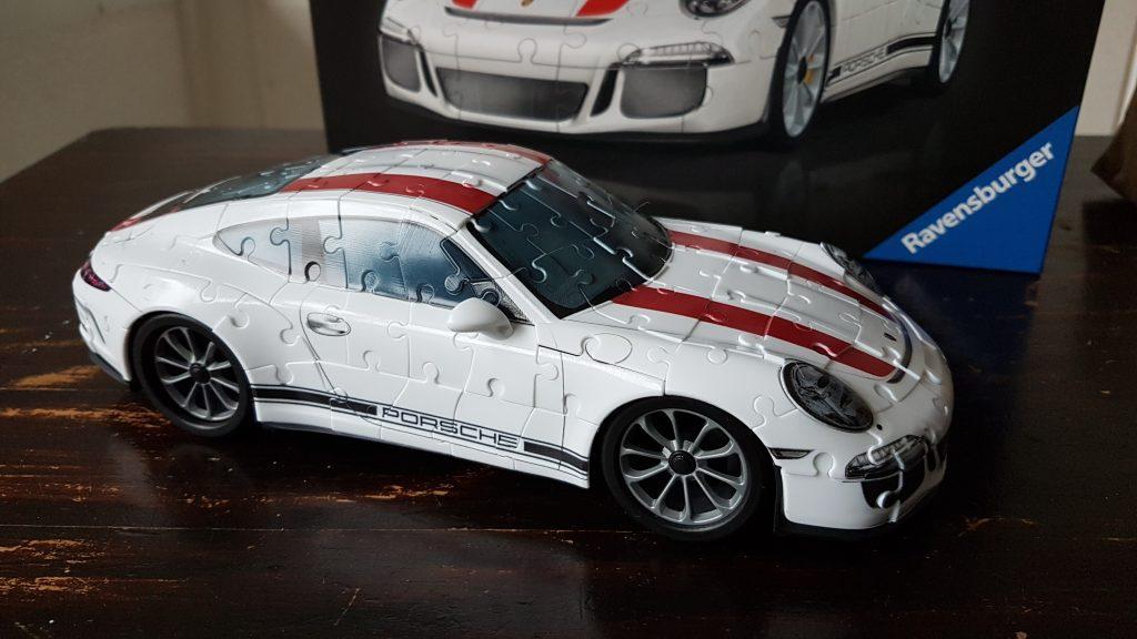 De Ravensburger Porsche 3D puzzel