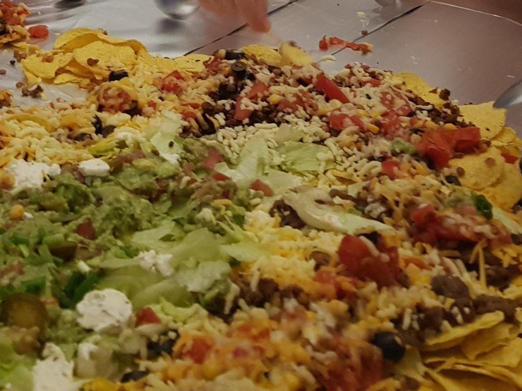 nacho table
