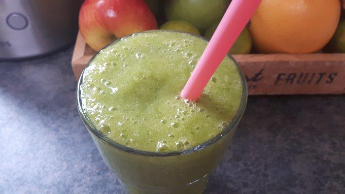 groene smoothie bleekselderij